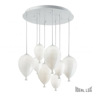Luster Ideal Lux CLOWN SP8 8 x 40W G9  Ø500