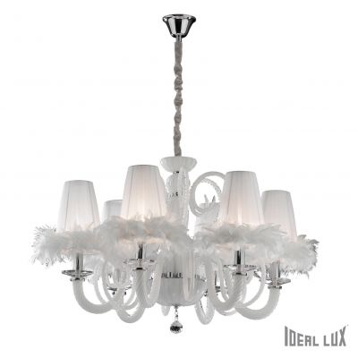 Luster Ideal Lux CABARET SP6 6 x 40W E14 Ø 900