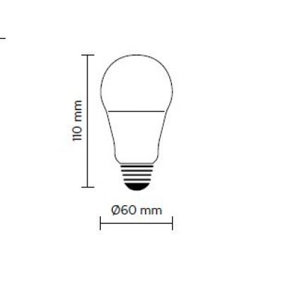 LED žarulja 6W E27 Karman