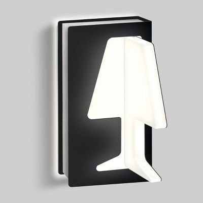 Zidna lampa Kreadesign Libro DX LED