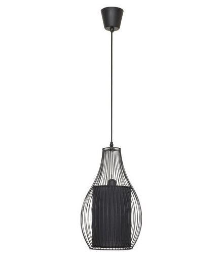 Luster Nowodvorski CAMILLA black 4610 E27 max 40W Ø26