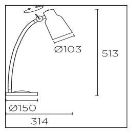 Stolna lampa Leds-c4-FUNK Ø103