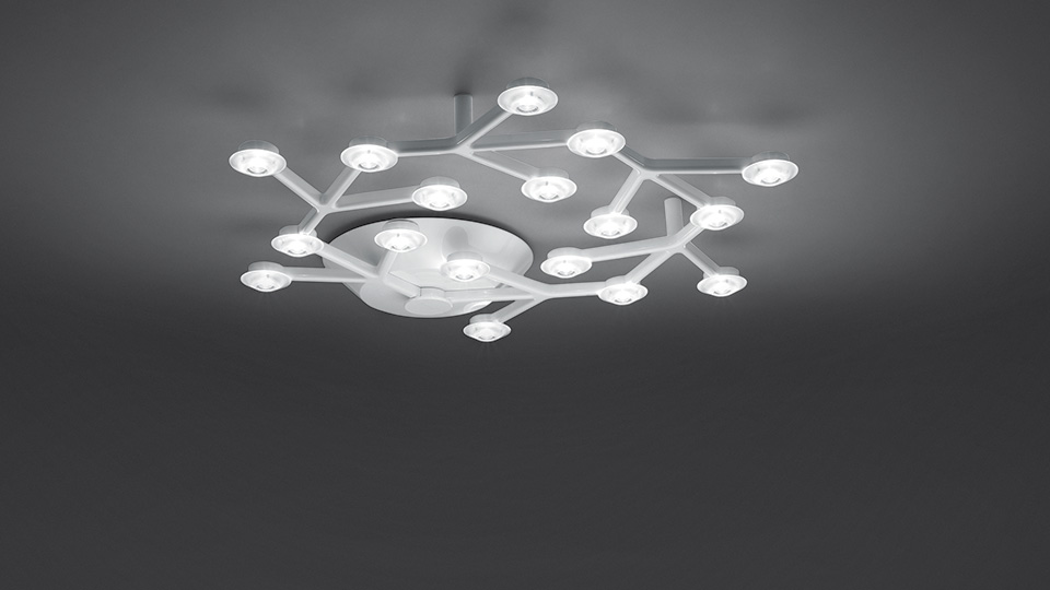 Stropna lampa Artemide LED Net circle