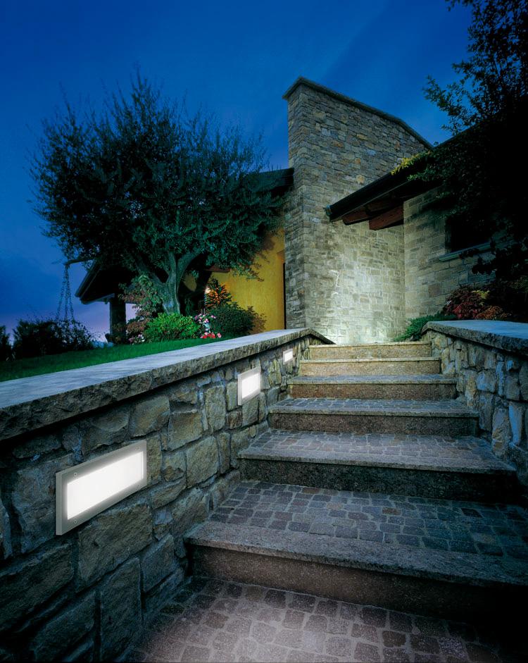 Ugradna svjetiljka Lombardo Stile 260 simmetrica IP66 1xE27
