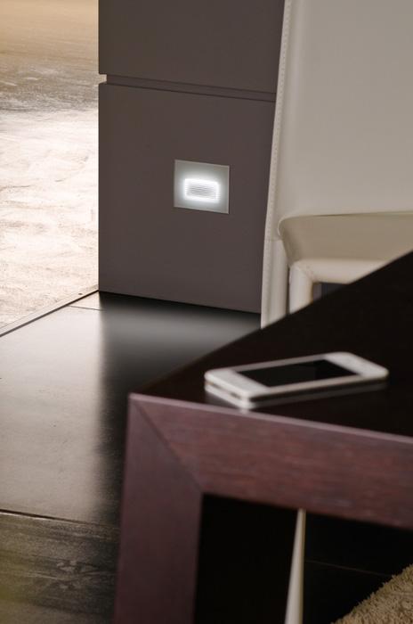 Vanjska ugradna svjetiljka Lombardo Stile next 503 asimmetrico 6 LED 3W