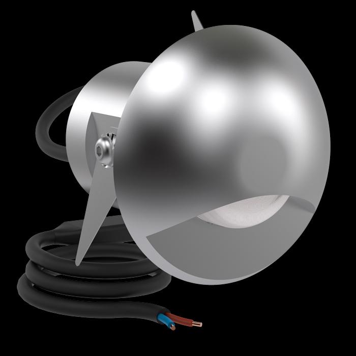 Vanjska ili unutarnja ugradna LED svjetiljka Lombardo CNC50 Top L 1 LED 6,5W
