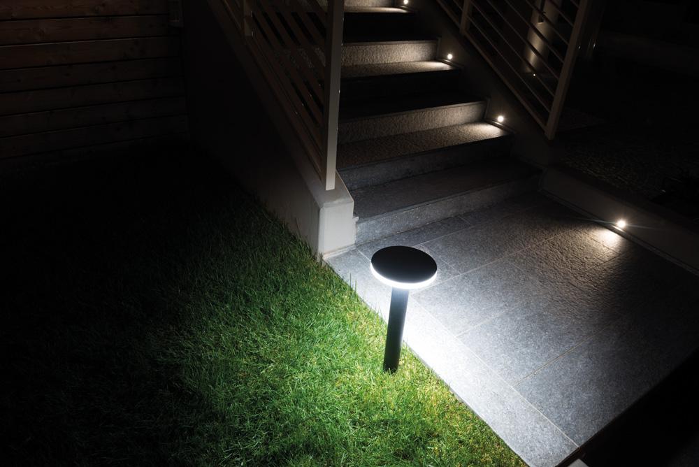 Rasvjetni LED stupić Lombardo Kit-05 Line 220 Post H500 IP66 11W