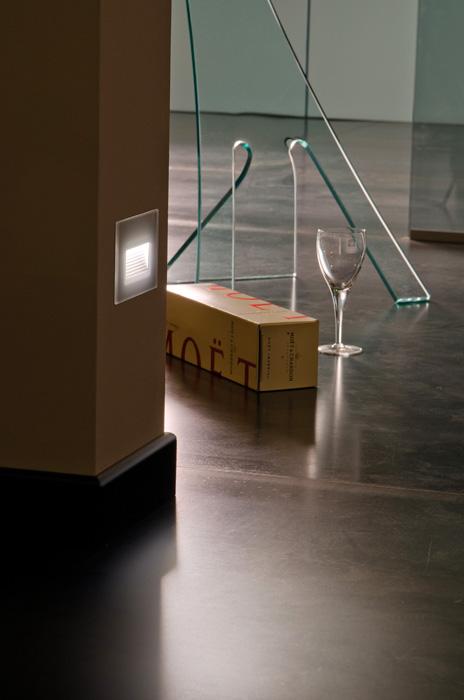 Vanjska ugradna svjetiljka Lombardo Stile next 103 asimmetrica 6 LED 3W