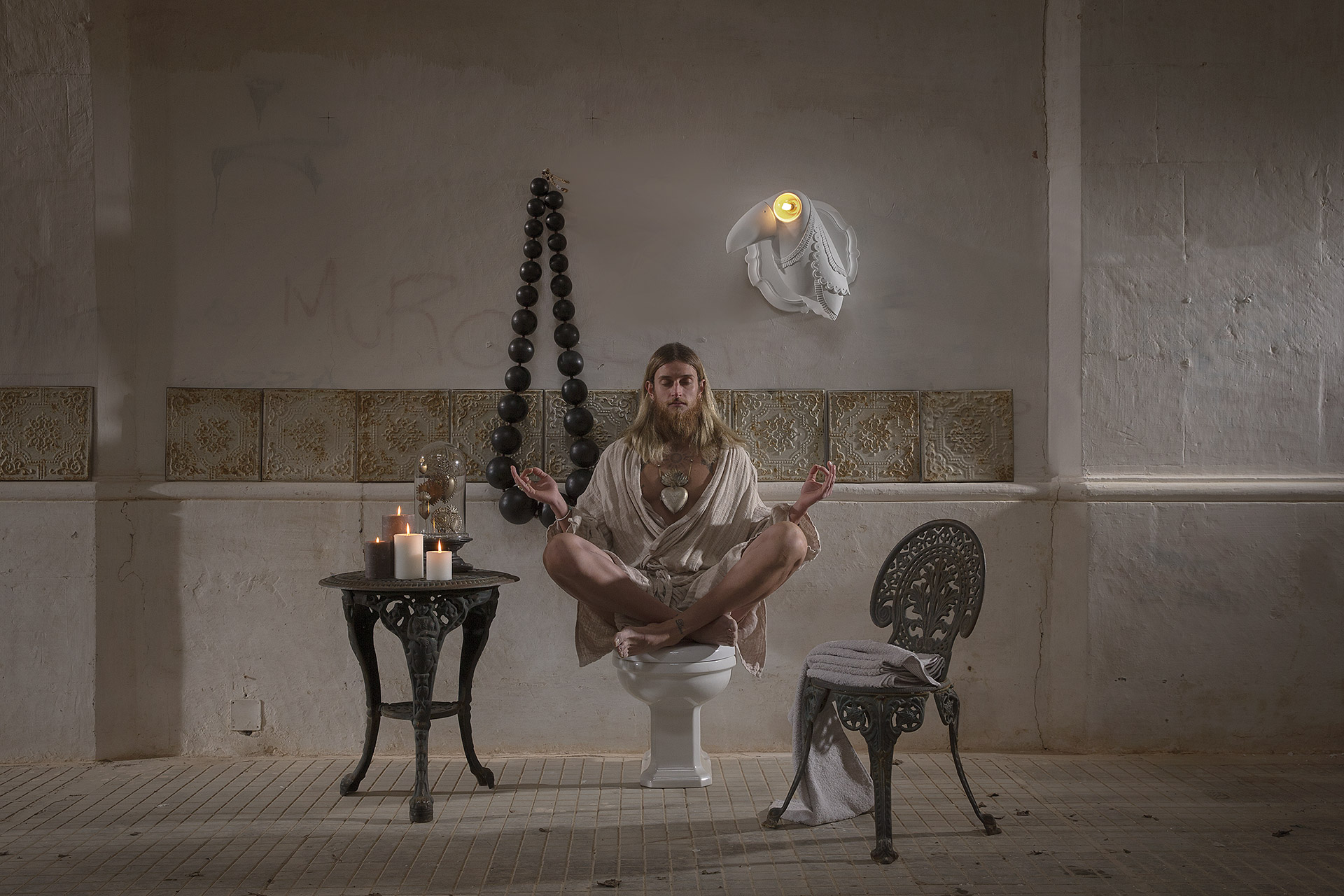 Zidna lampa Karman CUBANO