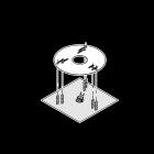 Postolje za LED stupiće Lombardo Kit-02, Stile Next Post