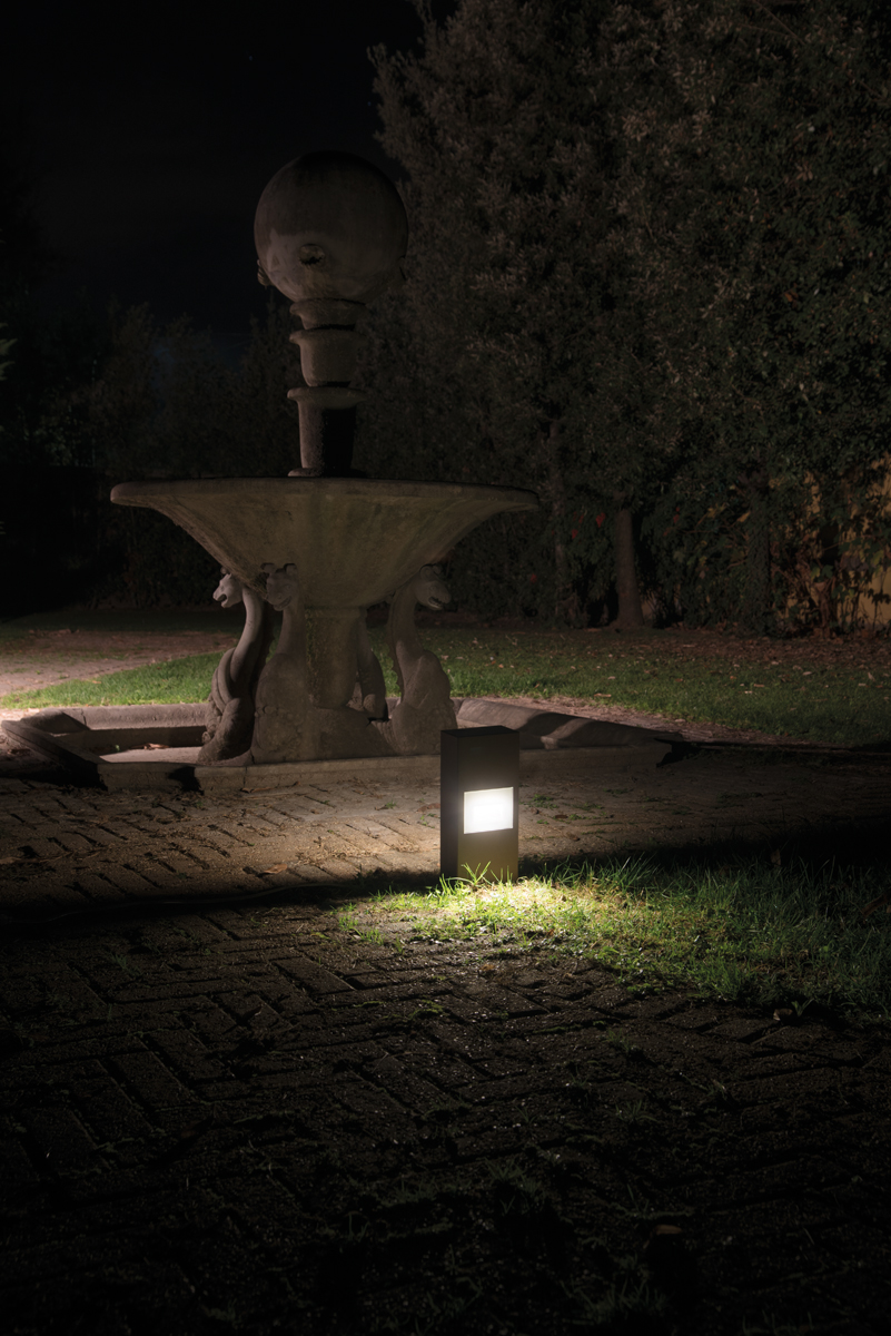 Rasvjetni LED stupići Lombardo Kit-08 Stile Next Post IP66 3W+3W