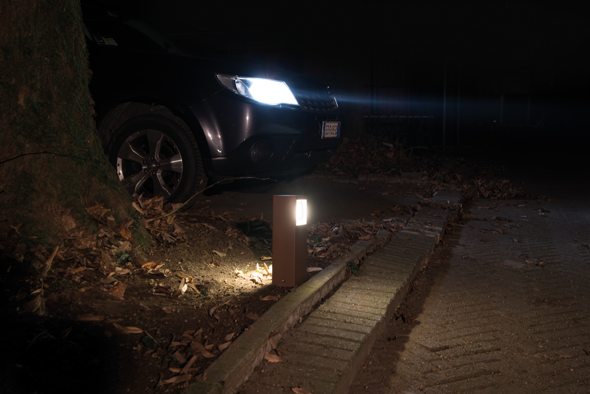 Rasvjetni LED stupići Lombardo Kit-10 Stile Next Post IP66 3W+3W