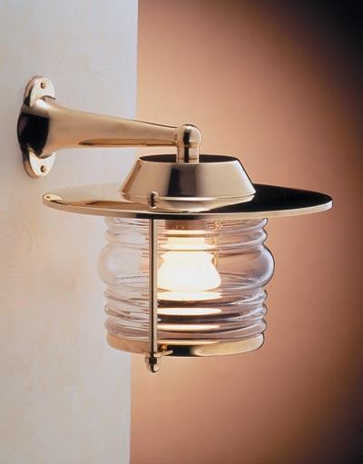 Zidna svjetiljka Laura Suardi 2059.LT E27 - mesing IP43
