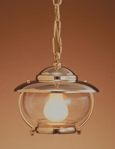 Ovjesna svjetiljka Laura Suardi 2118B.LT E27 - polirani mesing