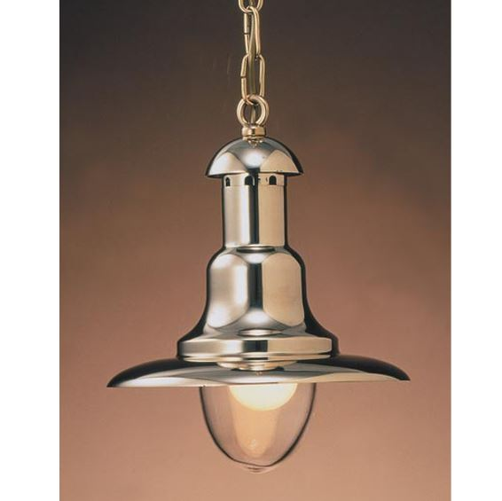Ovjesna svjetiljka Laura Suardi 2162.L E27 - polirani mesing