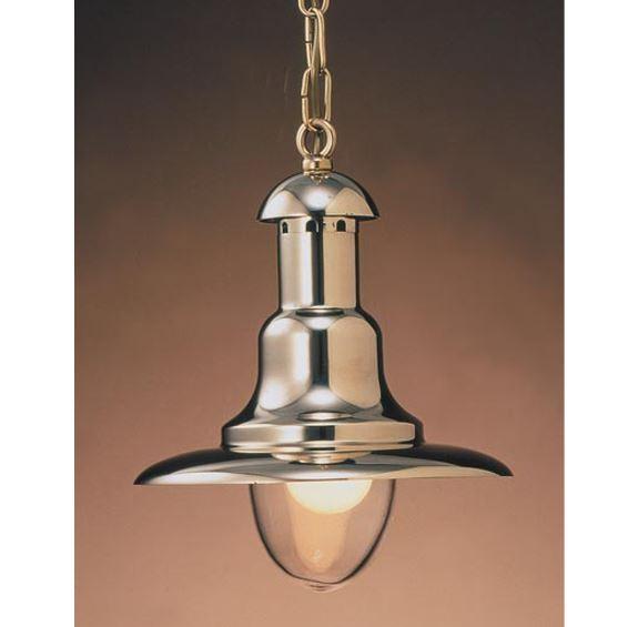 Ovjesna svjetiljka Laura Suardi 2190.L E27 - polirani mesing