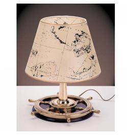 Stolna svjetiljka Laura Suardi 2281.LP E27 - polirani mesing