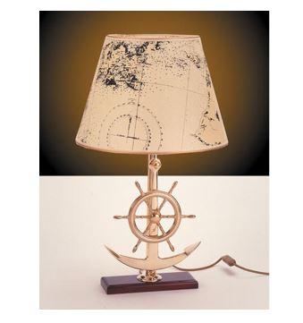 Stolna svjetiljka Laura Suardi 2282.LP E27 - polirani mesing