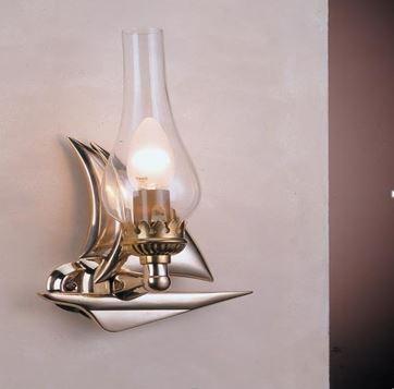 Zidna svjetiljka Laura Suardi 2232.LT E14 - polirani mesing