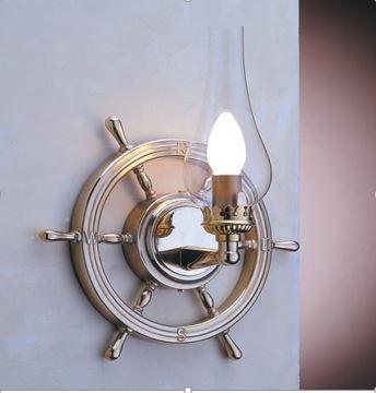 Zidna svjetiljka Laura Suardi 2235.LT E14 - polirani mesing