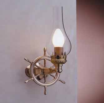 Zidna svjetiljka Laura Suardi 2236.LT E14 - polirani mesing