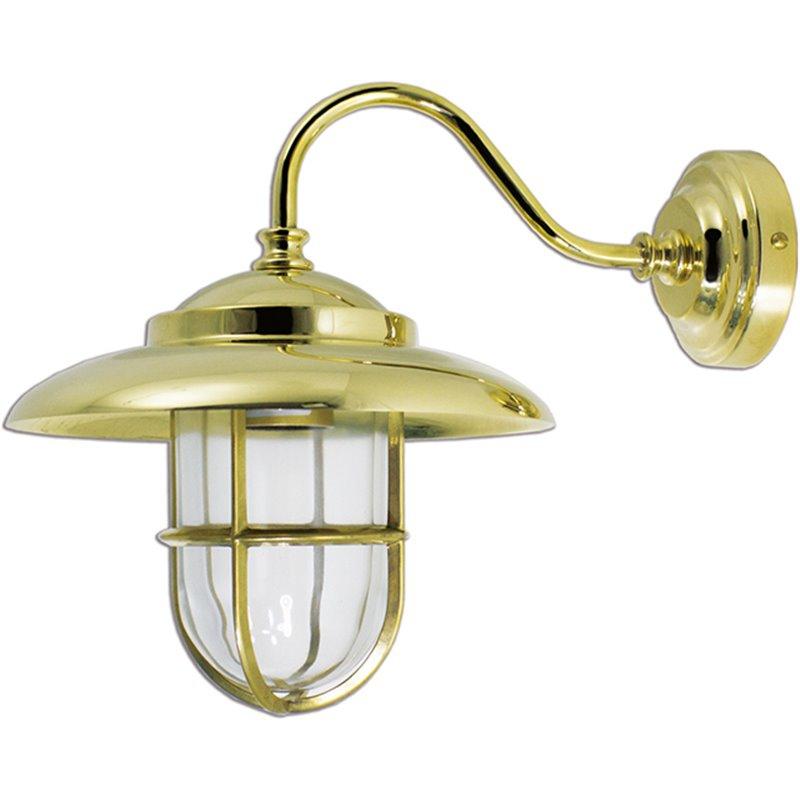 Zidna svjetiljka Laura Suardi 2323.L E27 - polirani mesing
