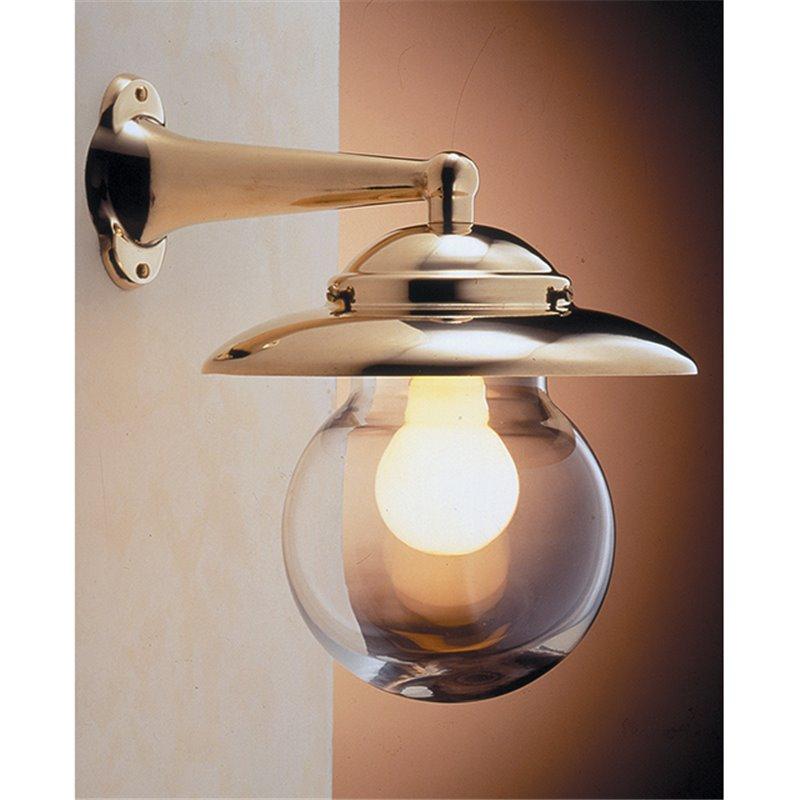 Zidna svjetiljka Laura Suardi 2071.L E27 - polirani mesing