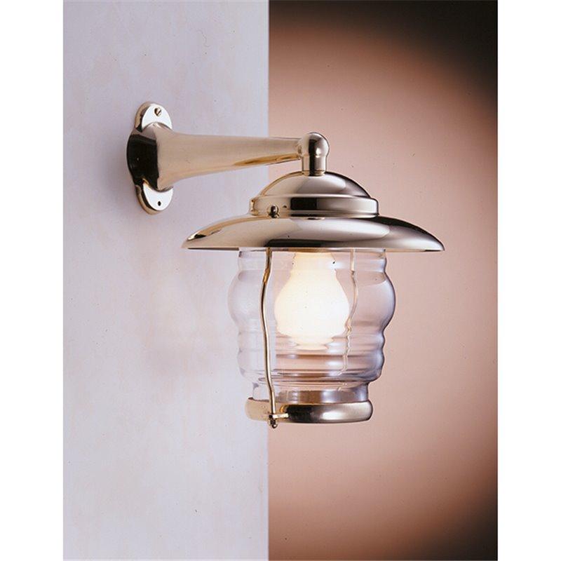 Zidna svjetiljka Laura Suardi 2077.L E27 - polirani mesing