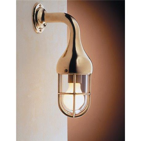 Zidna svjetiljka Laura Suardi 2075.L E27 - polirani mesing