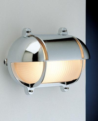 Zidna svjetiljka Laura Suardi 2435B.C E27 - kromirani mesing IP54