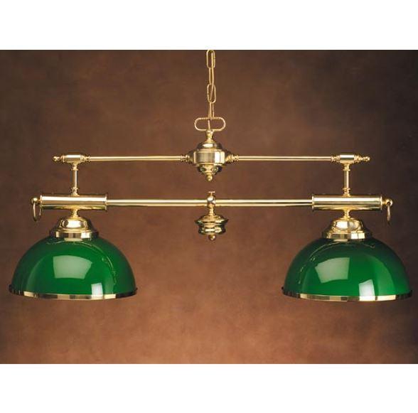 Ovjesna svjetiljka Laura Suardi 3016 2xE27 - lakirani mesing