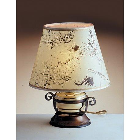 Stolna svjetiljka Laura Suardi 2209.L E27 - mesing