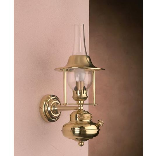 Zidna svjetiljka Laura Suardi 3221 E14 - polirani mesing