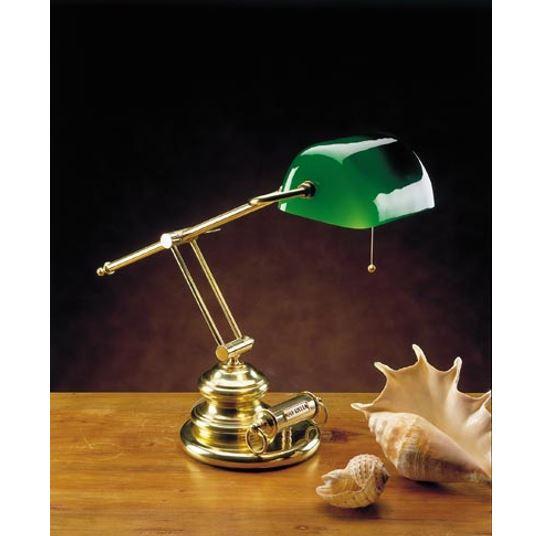 Stolna svjetiljka Laura Suardi 3103 E27 - polirani mesing