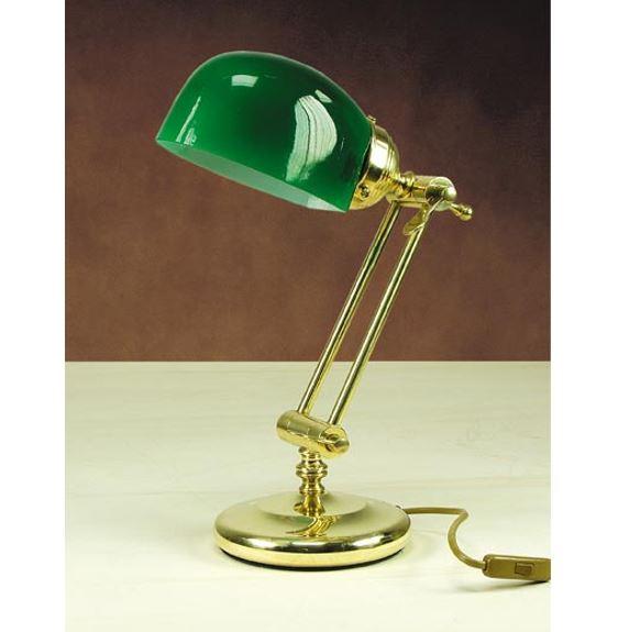 Stolna svjetiljka Laura Suardi 3119 E27 - polirani mesing