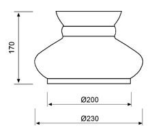 Stolna svjetiljka Laura Suardi 3123 E14 - polirani mesing