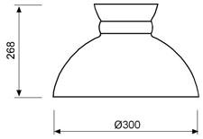 Stolna svjetiljka Laura Suardi 3135 E27 - polirani mesing