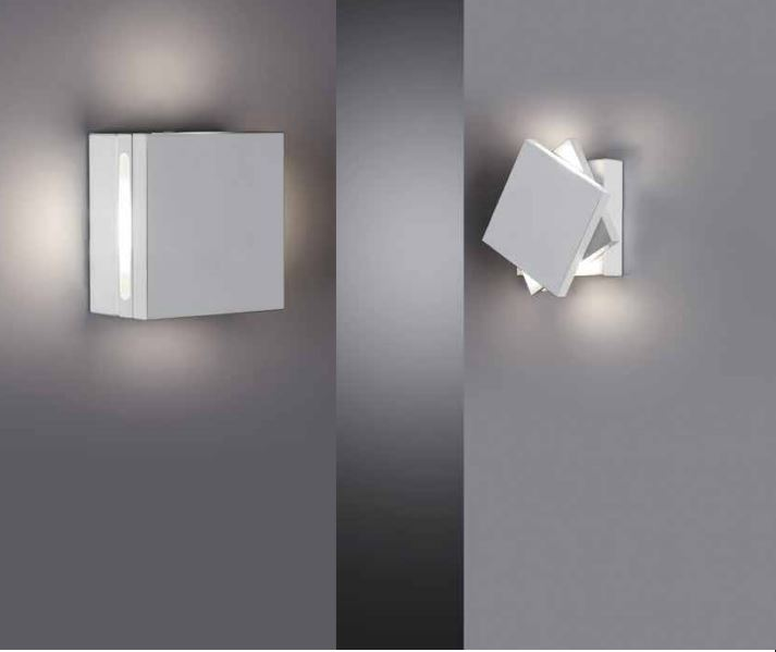 Zidna lampa Cattaneo QUADRETTO LED 4x2,2W