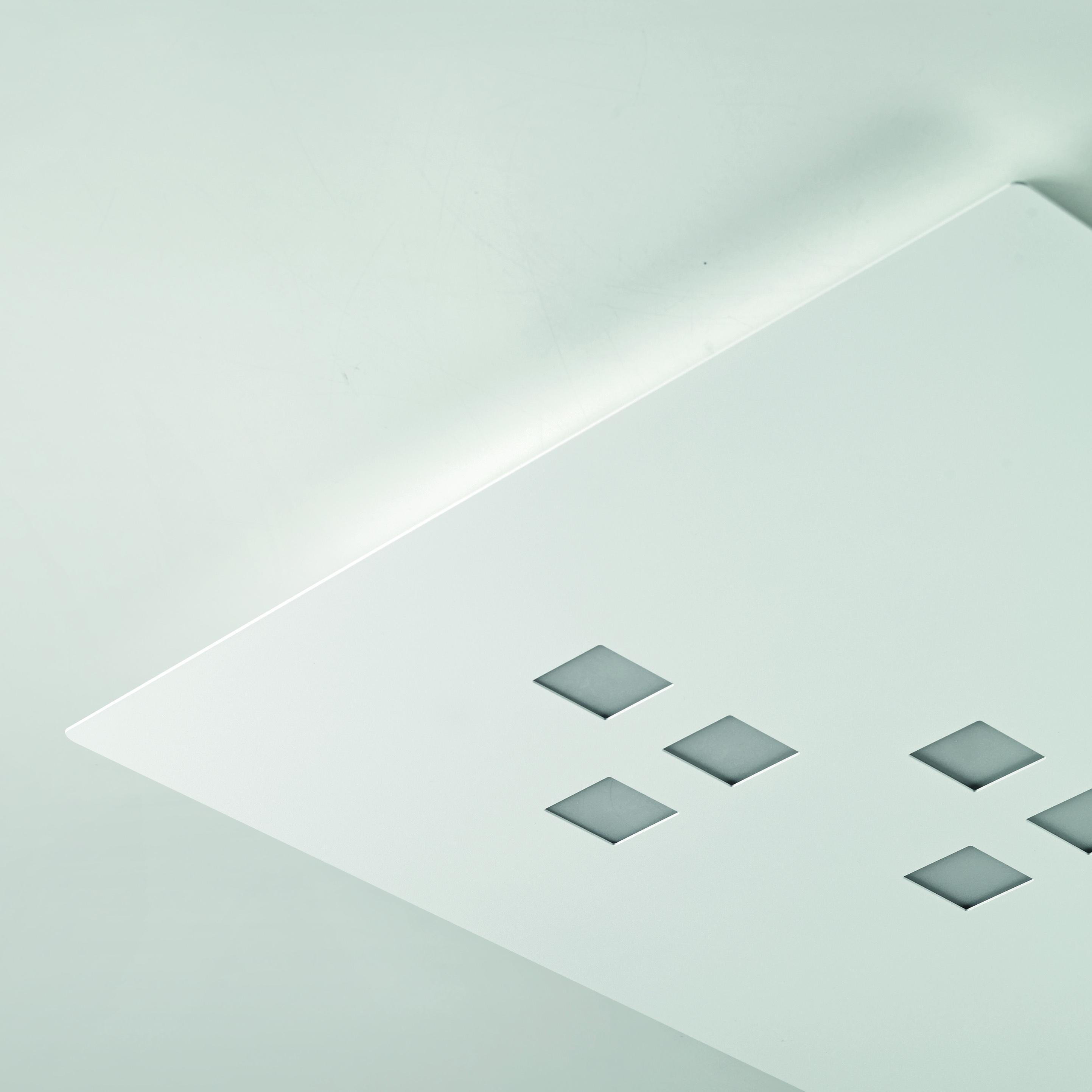 Stropna lampa Cattaneo Plateau LED 2x4,5W