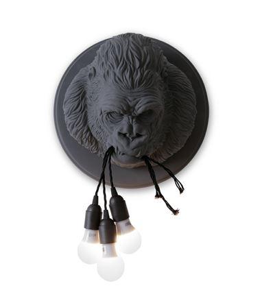 Zidna lampa Karman UGO RILLA-mat siva