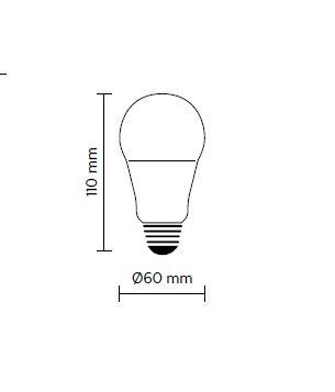 LED žarulja 6W E27 Karman