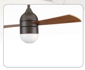 Dodatni pribor - rasvjeta za stropni ventilator Casa Fan Involution E27, max. 23 W