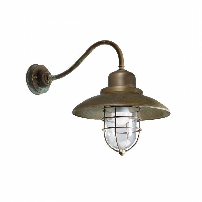 Vanjska zidna svjetiljka Moretti Luce 3300.T IP44 E27 max 52W