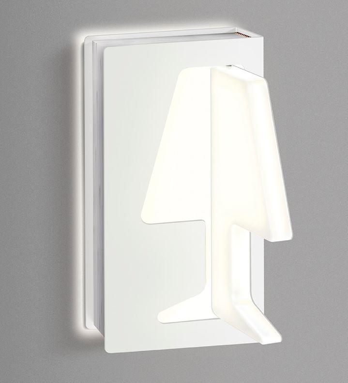 Zidna lampa Kreadesign Libro DX LED