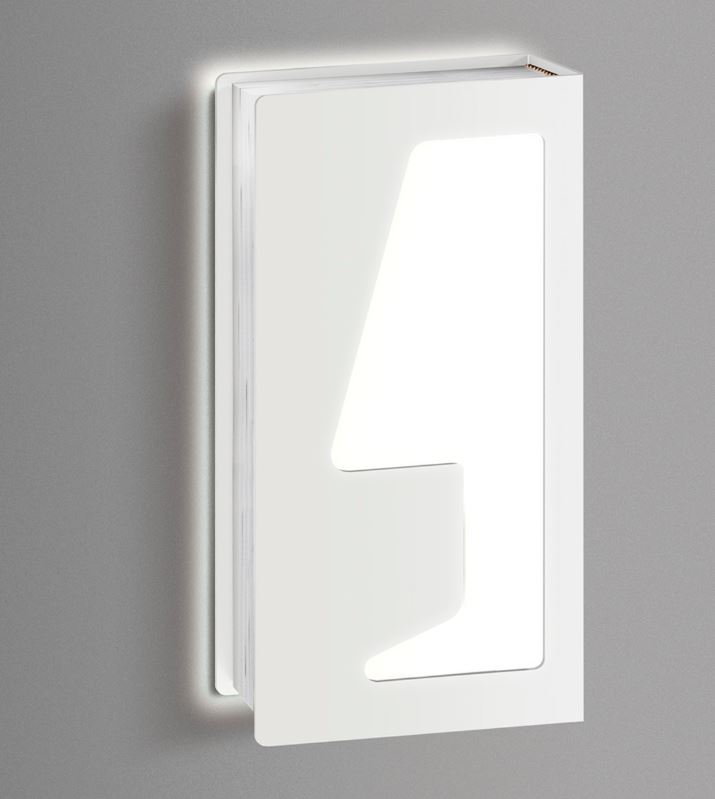 Zidna lampa Kreadesign Libretto SX LED
