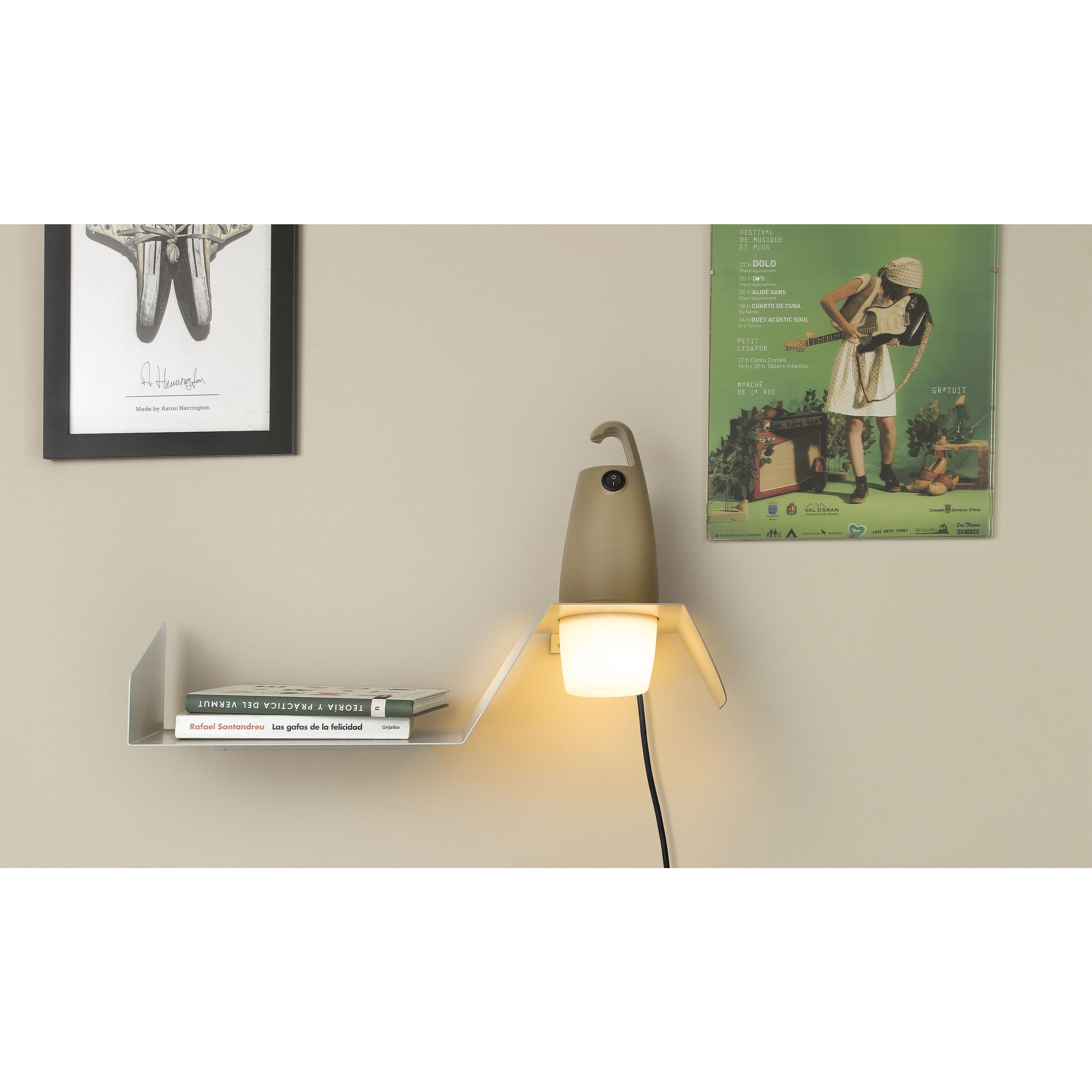 Polica za LED svjetiljku Faro Hook