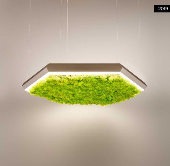 Luster Olev Exagon Silence Green LED   85Watt