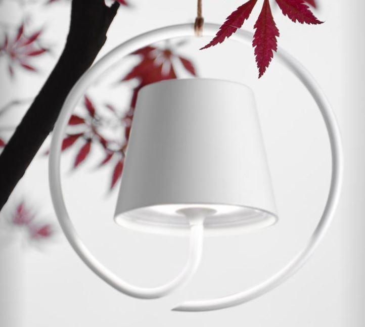 Bežična viseća LED svjetiljka Poldina IP54