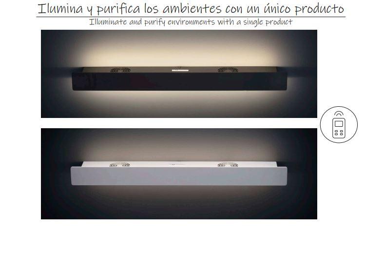 Zidna ACB FOSCA LED lampa sa UV-C sterilizatorom zraka