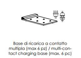 Multikontaktni punjač za bežičnu LED svjetiljku 6